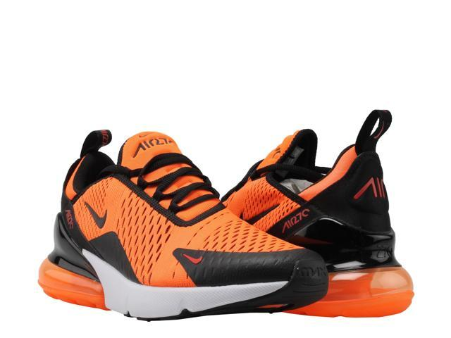 Nike Air Max 270 Team Orange Black White Men S Lifestyle Shoes