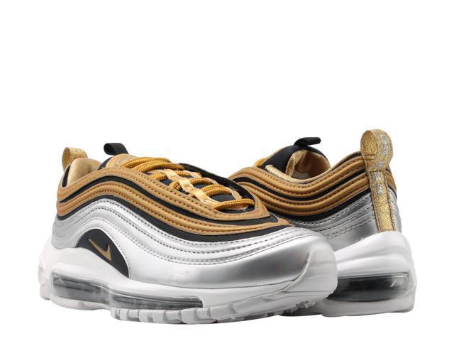 size 40 d6a6b 4eb95 Nike Air Max 97 Metallic Gold/Metallic Gold Women's Running Shoes  AQ4137-700 Size 8 - Newegg.com