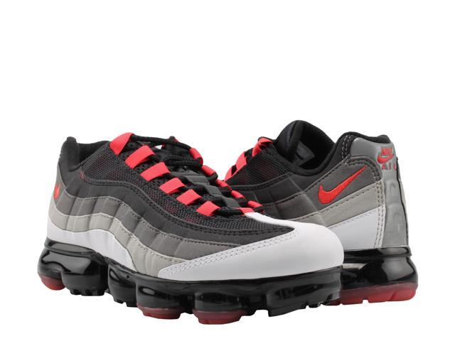 promo code e07d2 15765 Nike Air Vapormax 95 White Hot Red-DK Pewter Men s Running Shoes AJ7292-