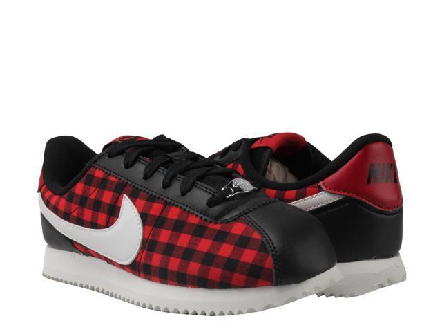 brand new d0d5b bfb4c Nike Cortez Basic TXT SE (GS) Black/White-Red Big Kids Running Shoes  AA3498-003 Size 3.5 - Newegg.com