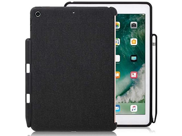 new styles 1bbf7 ffef1 khomo - ipad 9.7 inch case (2017 & 2018) with pencil holder - companion  cover - perfect match for apple smart keyboard and cove - Newegg.com