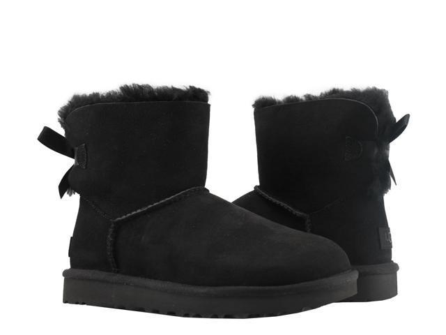cb350120941 UGG Australia Mini Bailey Bow II Black Women's Boots 1016501-BLK Size 8 -  Newegg.com