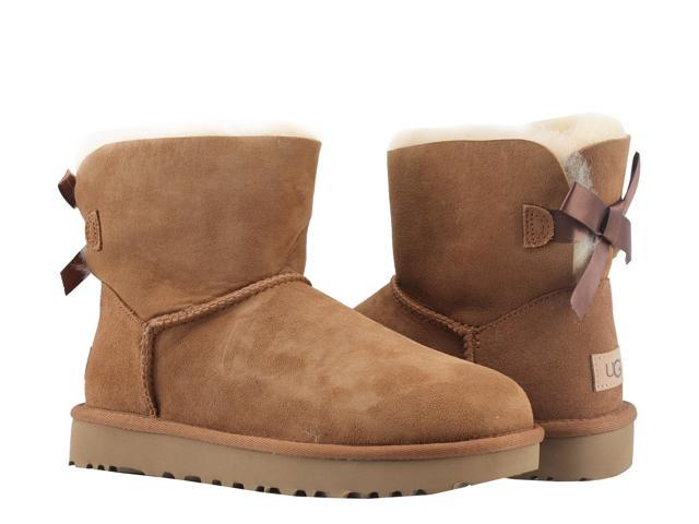 24ba8bd527e UGG Australia Mini Bailey Bow II Chestnut Women's Boots 1016501-CHE Size 8  - Newegg.com