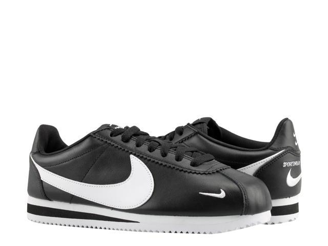 san francisco 96704 16e8e Nike Classic Cortez Premium Black/White Men's Running Shoes 807480-004 Size  11.5 - Newegg.com