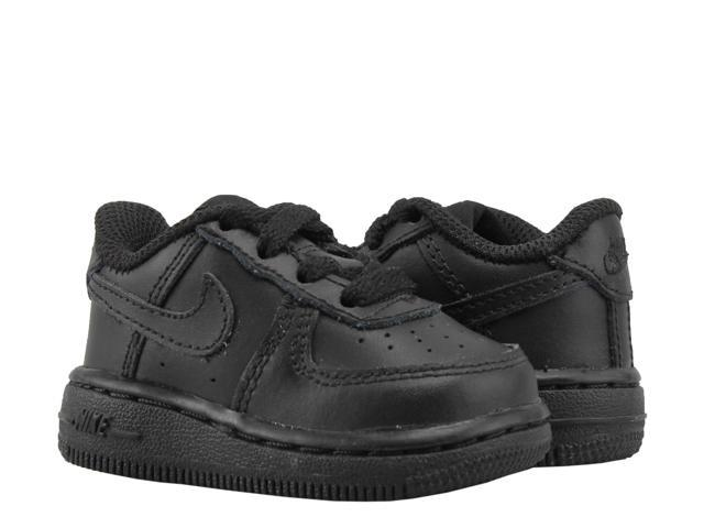 1e644144becc3 Nike Air Force 1 (TD) Black/Black Toddler Kids ShoesBasketball Shoes  314194-009 Size 7