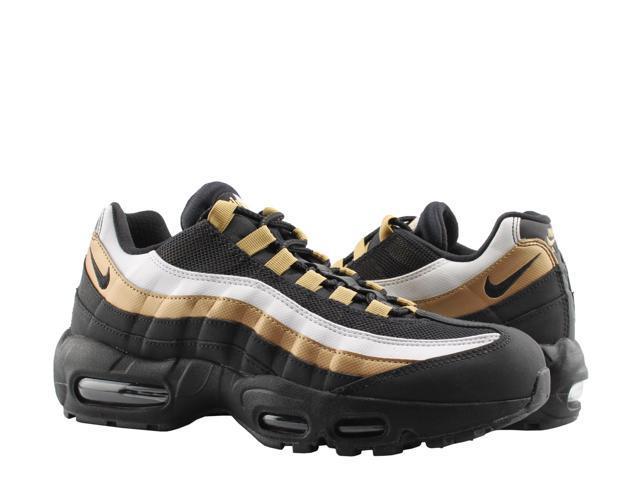 ace6ed2d3cf44 Nike Air Max 95 OG Black/Black-Metallic Gold Men's Running Shoes AT2865-002  Size 7.5 - Newegg.com
