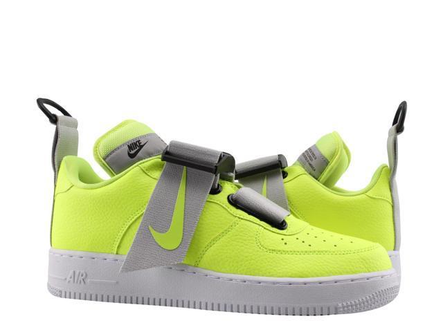 pas mal 924b2 8e339 Nike Air Force 1 Utility Volt/White-Black Men's Basketball Shoes AO1531-700  Size 13 - Newegg.com