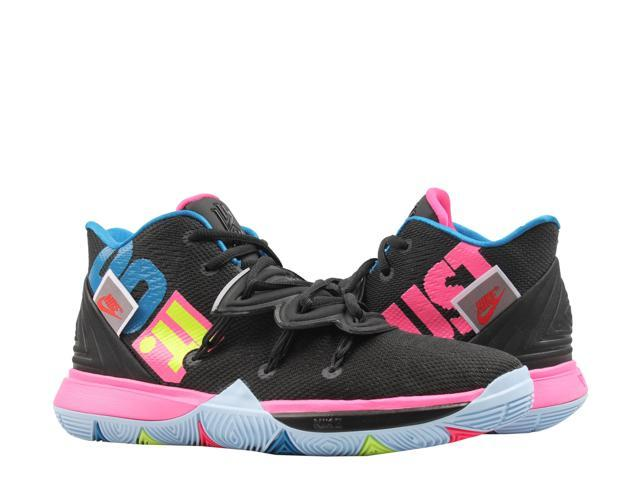 Nike Kyrie 5 Black/Volt-Hyper Pink (GS) Big Kids Basketball Shoes AQ2456-003 Size 7