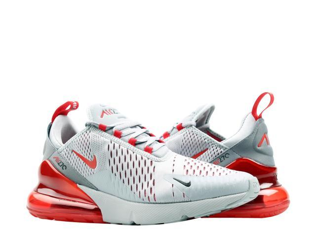 hot sale online dac42 f4677 Nike Air Max 270 Wolf Grey University Red Men s Lifestyle Shoes AH8050-018  Size