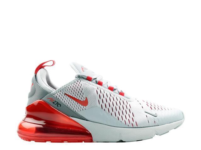 Nike Air Max 270 Wolf GreyUniversity Red Men's Lifestyle Shoes AH8050 018 Size 9