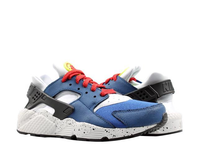 authentic quality huge inventory good quality Nike Air Huarache Run PRM Indigo Force/Volt Men's Running Shoes 704830-404  Size 10.5