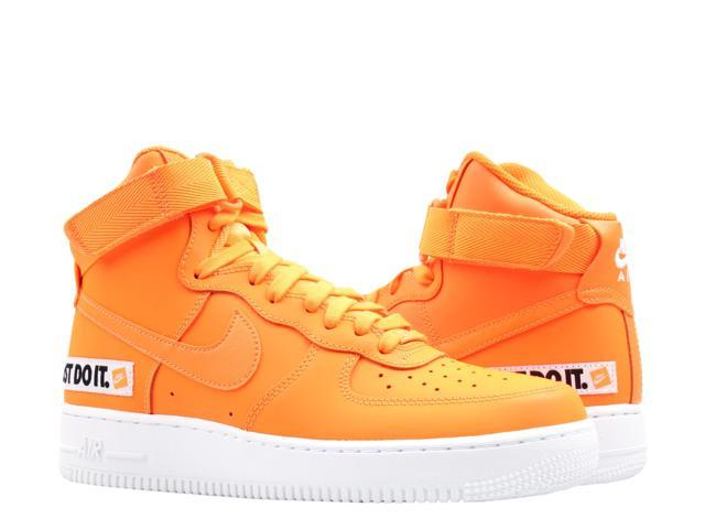 Nike Air Force 1 High '07 LV8 JDI LTR Orange Men's Basketball Shoes BQ6474 800 Size 11.5