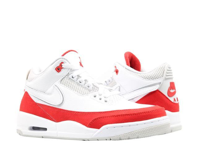 new style c51ae adeec Nike Air Jordan 3 Retro Tinker AM1 White Red Men s Basketball Shoes  CJ0939-100