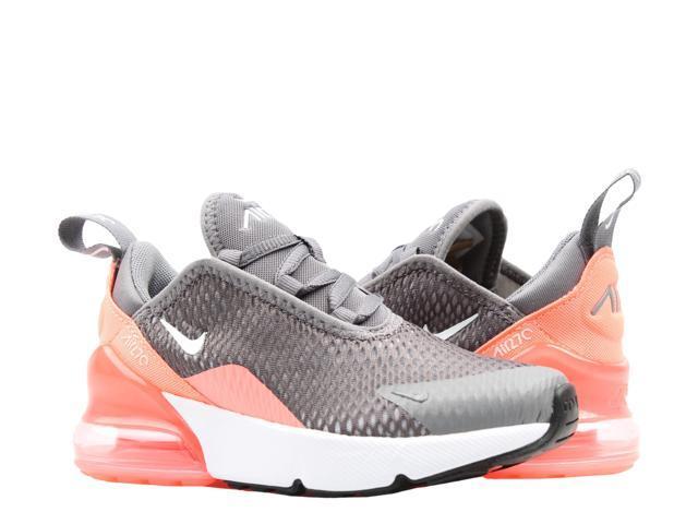 new style 66f02 b87b3 Nike Air Max 270 (PS) Gunsmoke/White-Pink Little Kids Running Shoes  AO7440-001 Size 12 - Newegg.com
