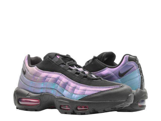 Nike Air Max 95 PRM Throwback BlackL. Fuchsia Men's Running Shoes 538416 021 Size 8