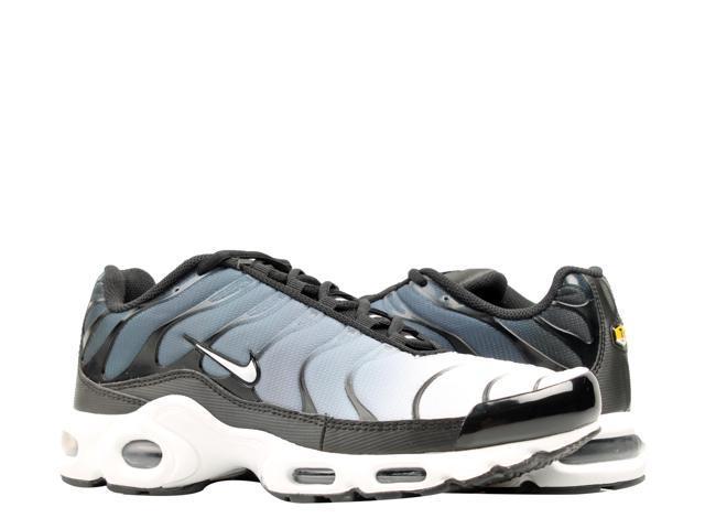 the latest 88e04 e478b Nike Air Max Plus Black/White Men's Running Shoes 852630-028 Size 10.5 -  Newegg.com