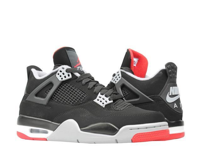 quality design 7a471 2908c Nike Air Jordan 4 Retro Bred Men's Basketball Shoes 308497-060 Size 12 -  Newegg.com
