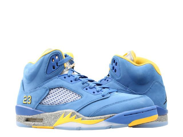 Nike Air Jordan 5 Retro Laney JSP Royal/Maize Men's Basketball Shoes  CD2720-400 Size 11