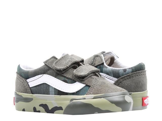 cheap for discount look for official images Vans Old Skool V Plaid Camo Toddler Kids Low Top Sneakers VN0A344KVDZ Size  5.5
