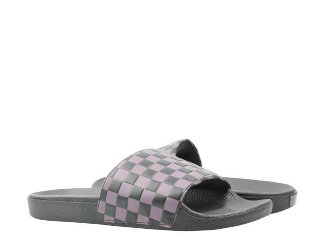 ccdcfbf964 Vans Slide-On Checkerboard Black Plum Purple Men's Slides VN0A45JEVGE Size  10 - Newegg.com