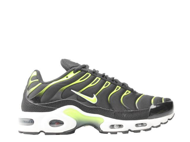 Nike Air Max Plus BlackVolt White Platnium Tint Men's Running Shoes 852630 037 Size 9
