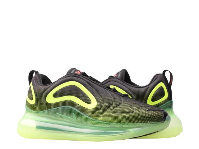 Nike Air Max 720 Black/Bright Crimson-Volt Men's Lifestyle Shoes AO2924-008  Size 12