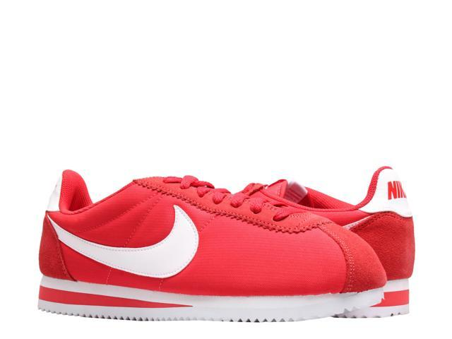 buy popular 5abb9 a189b Nike Classic Cortez Nylon University Red/White Men's Running Shoes  807472-604 Size 7.5 - Newegg.com