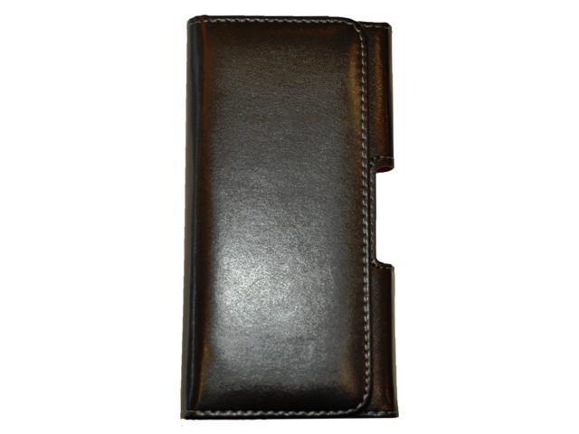 quality design 47906 45ff3 Silent Circle Leather Holster Case for Blackphone 2 Smartphone - Black -  Newegg.com