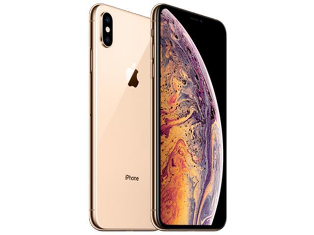 Apple iPhone Xs Max A2101 64GB (No CDMA, GSM only) Factory Unlocked 4G/LTE Smartphone - Gold