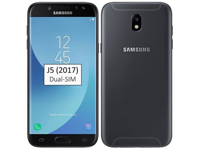 Samsung Galaxy J5 (2017) SM-J530F/DS Dual-SIM 16GB (No CDMA, GSM only)  Factory Unlocked 4G/LTE Smartphone - Black - Newegg com