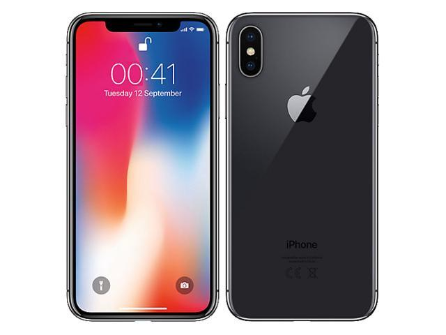 Apple iPhone X A1901 MQAC2B/A 64GB (No CDMA, GSM only) Factory Unlocked 4G/LTE Smartphone - Space Grey