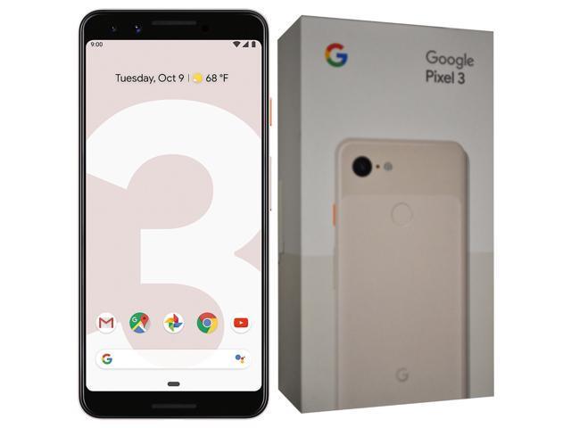 Google Pixel 3 XL G013C (2018) 64GB (No CDMA, GSM only) Factory Unlocked  4G/LTE Smartphone - Not Pink - Newegg com