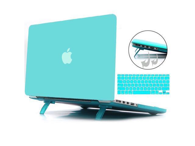 pick up a7d81 942e7 Macbook Air 13 Inch Case, Hemetech 2 in 1 Ultra Slim Soft-Touch Plastic  Rubberized Hard Case Cover for Apple Macbook Air 13