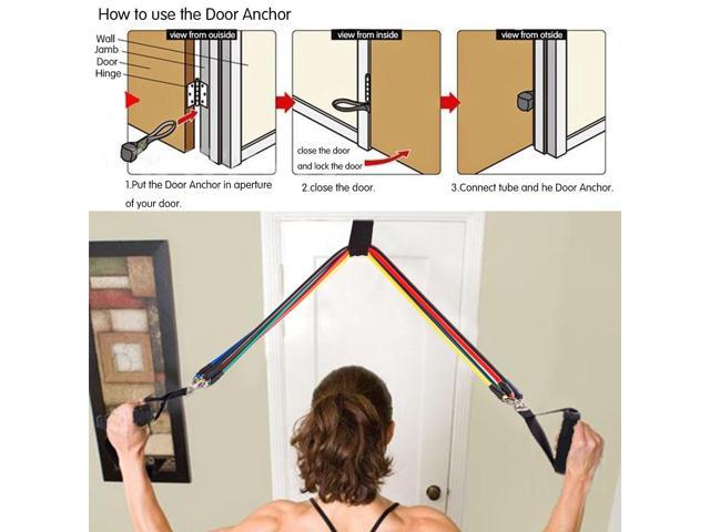 THE MATRX WALL CEILING RING MOUNT DOOR ANCHOR FOR RESISTANCE TRAINING BANDS