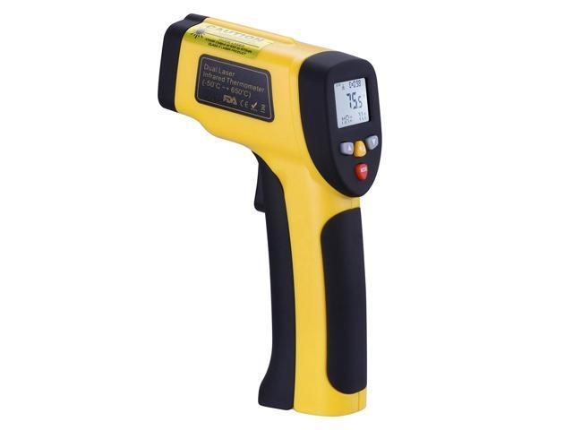 Infrared Thermometer Werleo Dual Laser Thermometer Temperature Gun  Non-contact Surface Digital IR Thermometer -58?~1202? (-50? to 650?)  Instant Read