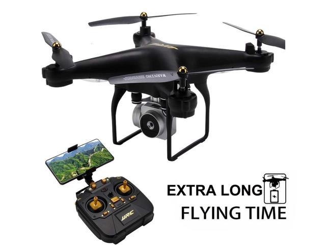 FPV RC Drone Drone JJRC H68 RC Quadcopter Drone with 720P HD Camera Live  Video WIFI FPV Quadcopter with Headless Mode Altitude Hold Long Range -