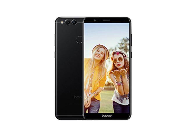 Huawei Honor 7X Android 7 0 Octa Core 5 93 inch Display Cell Phone Kirin  659 4GB RAM 64GB ROM Full View Screen 2160*1080 Dual Rear Camera 16MP