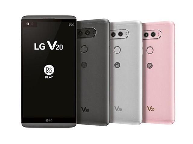 Refurbished: Original Unlocked LG V20 LS997 Mobile Phone 4GB RAM 64GB ROM  Quad Core 5 7'' 16MP+8MP Fingerprint 4G LTE Smart Phone (Sprint Version) -