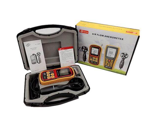 GM8901 Anemometer Wind Speed GaugeTemperature Measure Digital 45 m/s  thermometer - Newegg com