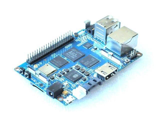 Banana Pi M3 BPI-M3 A83T Cortex-A7 Octa-core 2GB RAM with WiFi Bluetooth BT4.0 HDMI USB Open-source Development Board Demo Board