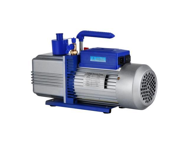 VEVOR Double Stage Vacuum Pump HVAC 12 CFM 1HP Refrigerant Vacuum Pump AC  Air Conditioning Vacuum Pumping for Freezing Food Packaging Automobile