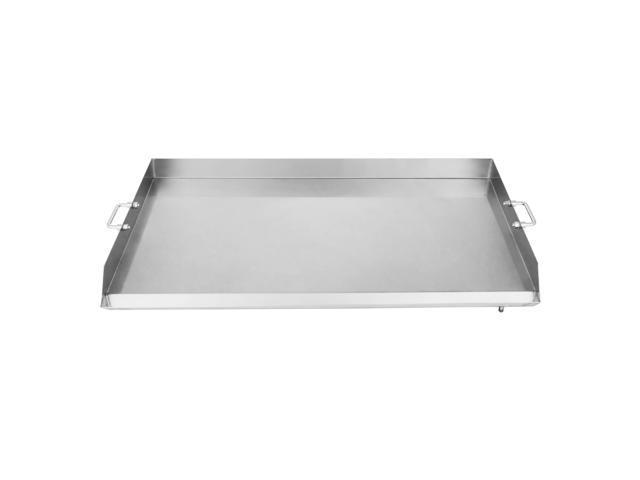 Vevor Universal Griddle For Bbq Grills Stainless Steel Flat Top Griddle Grill 36 X 22 For Triple Burner Stove Newegg Com