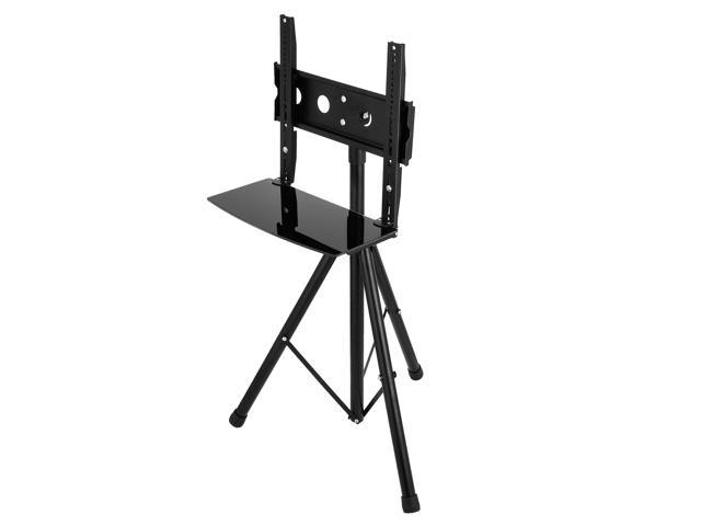 "26/""-55/"" Plasma LCD TV Stand with Tripod Legs TVs monitors Steel 37/""-59/"" Height"