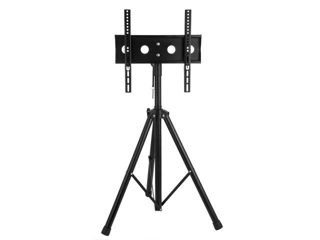 "26/""-55/"" Plasma LCD TV Stand with Tripod Legs TVs monitors Steel 37/""-59/"" Height"