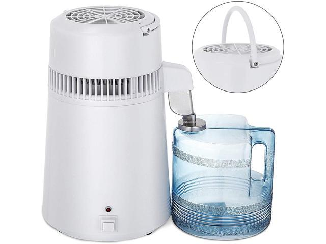 VEVOR 4L 750W Countertop Pure Water Distillation Purifier with Handle -  Newegg com