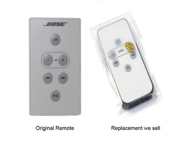 For Bose Series 1 SoundDock I Remote Control Replacement With Coin Battery  - Newegg com