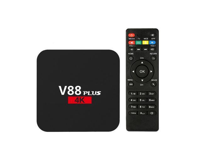 V88 HD Android 6.0 Smart TV Box 8GB RK3229 4K Quad Core WiFi Media Player gho