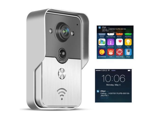 75a30e8662219 Wireless WiFi Doorbell Video Camera Smart Door Phone Ring Intercom Home  Security - Newegg.com