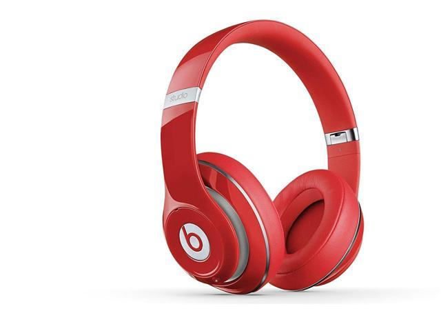 Beats Studio 2 0 Wired Over Ear Headphone 2 0 Red Newegg Com