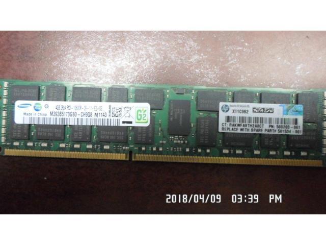 HP 500658-B21 500203-061 501534-001  4GB PC3-10600R NEW *LOT OF 10*